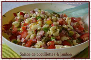 Recette Coquillette & jambon