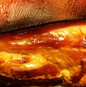 Recette Rouelle de porc braisée (jambon frais, fesse)