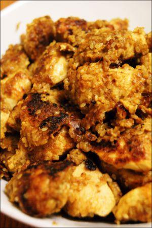 Recette Croquant de poulet au sésame blanc (un tour en cuisine)