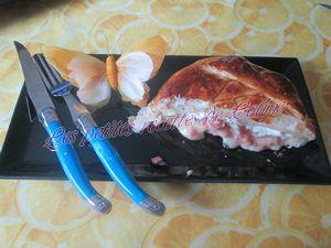 Recette Feuilletée de camembert aux lardons