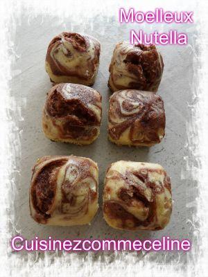 Recette Marbré nutella