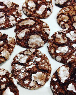 Recette Croquants fondants au chocolat