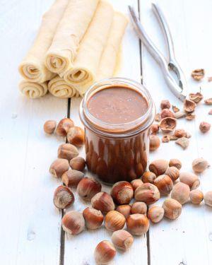 Recette Ma pâte à tartiner chocolat/noisettes
