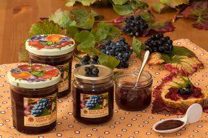 Recette Gelée de raisin muscat, noir