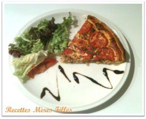 Recette Fenouil : Tarte thon tomate fenouil