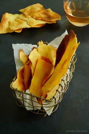 Recette Chips croustillantes de socca
