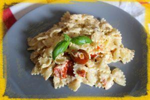 Recette Pâtes à la feta et aux tomates cerises ou Baked Feta Pasta