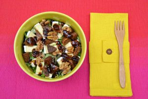 Recette Salade Brie figues