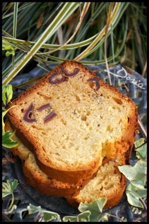Recette Cake aux dattes et à l'eau de rose