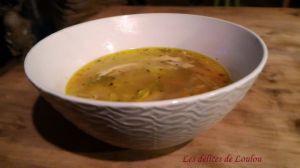 Recette Soupe de poulet aux petits légumes – La cuisine des restes