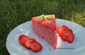 Recette Vive les fraises ! Sorbet aux fraises sans sorbetière