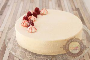 Recette Entremets amande, framboise et vanille
