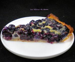 Recette Tarte aux myrtilles facile et délicieusement bonne !!