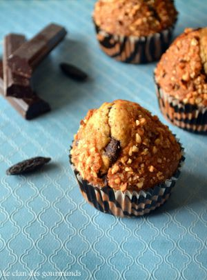Recette Muffins au chocolat et à la fève de tonka