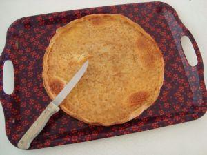 Recette Tarte au sucre (Tarte al chuc)