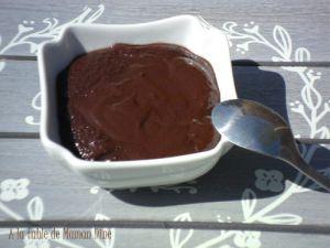 Recette Pâte a tartiner maison au chocolat noir