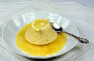 Recette Gateaux anglais très citron et sauce riche