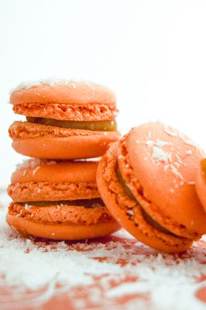 Recette Macarons mangues coco