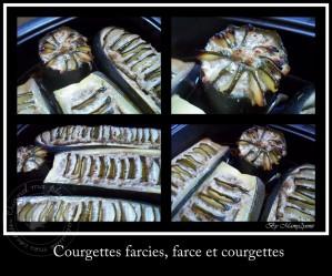 Recette Courgettes farcies, farce à la courgette