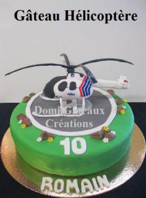 Recette Gâteau Helicoptère, Modelage en Pâte à Sucre