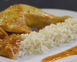 Recette Cuisses de poulet au curry COOKEO