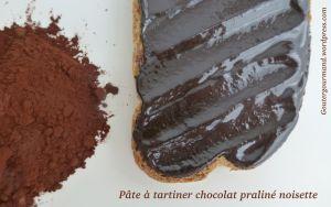 Recette Pâte à tartiner chocolat praliné