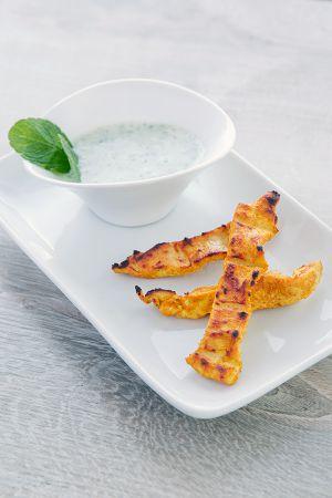 Recette Dips de poulet à l'indienne (Cuisine Light)