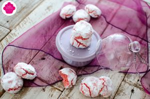 Recette Crinkles aux biscuits roses de reims - Emilie Sweetness
