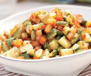 Recette Pommes de terre aux Courgettes (Cookeo)