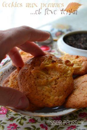 Recette Cookies aux pommes et fève Tonka
