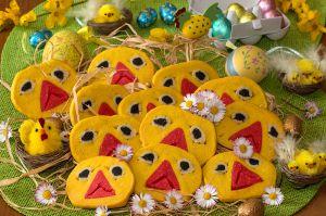 Recette Sablés poussins pour Pâques