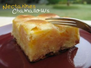 Recette Moelleux Nectarines Chamallows®