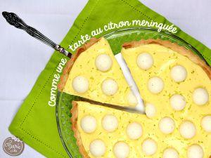 Recette Comme une tarte citron meringuée