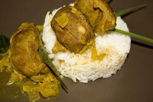 Recette Curry de joues de porc au tamarin