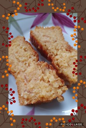 Recette Moelleux chocolat orange à la polenta