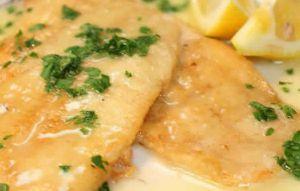 Recette Filets de colin à la sauce citronée