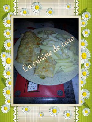 Recette Endives au blanc de poulet béchamel