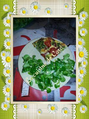 Recette Quiche brocoli-tomates (sans pâte)