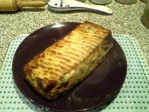 Recette Gâteau d'omelette aux légumes IG bas