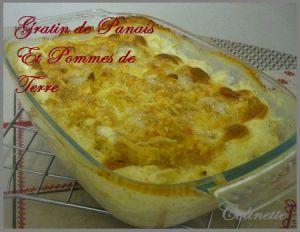 Recette Gratin de panais et pommes de terre