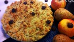 Recette Crumble pommes-poires et chocolat