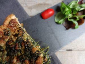 Recette Quiche saumon/épinards