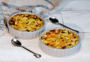 Recette Clafoutis d'atomne aux poires et raisin blanc