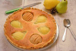 Recette Tarte financier aux poires et citron
