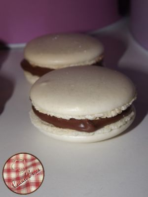 Recette Macarons au Nutella