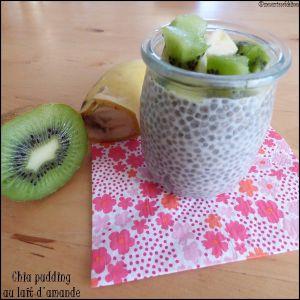 Recette Chia pudding au lait d'amande