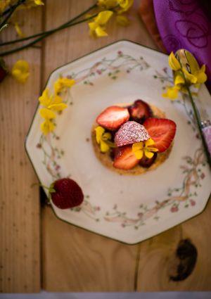 Recette Finesse fraise... Tartelette feuilletée à la fraise