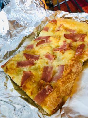 Recette Journal de bord du confinement #Jour13 Coronavirus et pizza à la cancoillotte