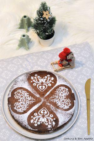 Recette Brookie pour le Père Noël