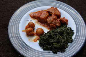 Recette Sauté de veau à la tomate (Cookeo ou pas)